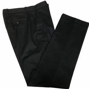 Gap Khakis Tailored black men's pants 33x34 NWOT